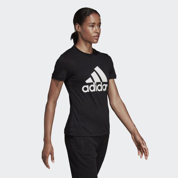 ★現貨在庫★ Adidas Must Haves Badge of Sport 女裝 上衣 短袖 休閒 黑【運動世界】DY7732
