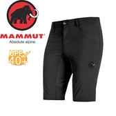 【MAMMUT Runbold Light Shorts 男《石墨灰》短褲】1023-09872-0121/長毛象/UPF40+/彈性透氣/防潑水