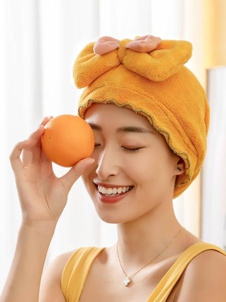 干發帽女超強吸水速干包頭巾洗頭帽子擦頭發毛巾神器新款加厚浴帽魔方數碼