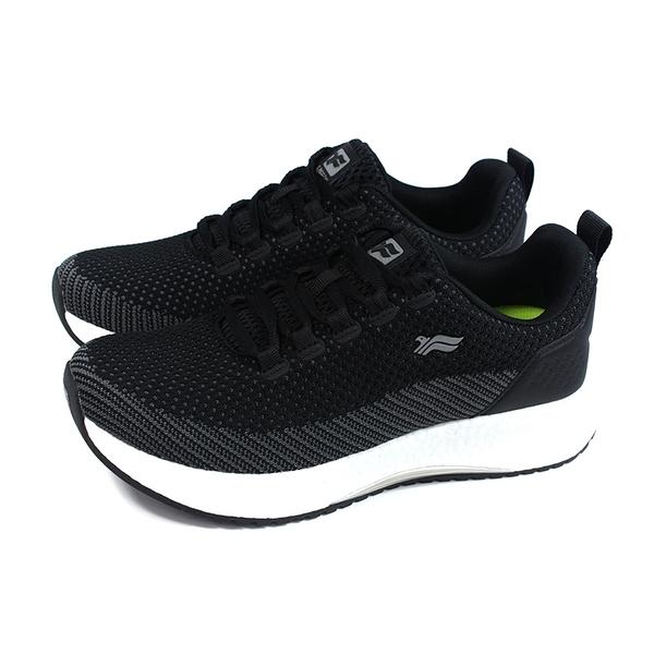 G.P (GOLD PIGEON) 阿亮代言 休閒運動鞋 黑色 針織 男鞋 P6945M-10 no467