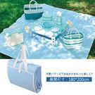 【日本鹿牌】CielCiel日式野餐墊180x200cm野外露營【居享優品】