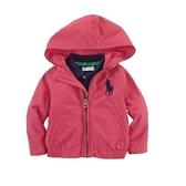 Polo Ralph Lauren 防風輕薄連帽外套 桃紅 | 女寶寶(嬰幼兒/兒童/小孩)