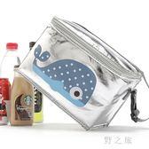 野餐袋  學生保溫包手提便當包野餐燒烤便當袋加厚保暖飯盒袋防水 KB9416【野之旅】