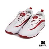 DC 新竹皇家 Legacy 白色 皮質 線條 休閒運動鞋 女款 NO.I9452