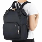 【澳洲 Pacsafe】Citysafe CX17L大容量及防盜休閒背包 -黑(20420100)