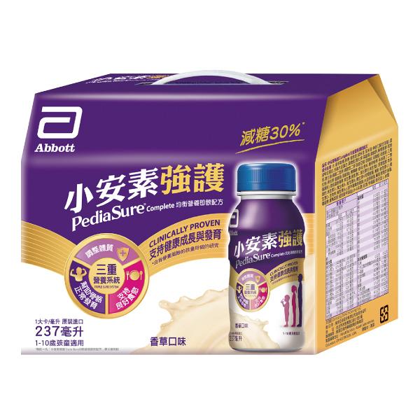 亞培 小安素強護均衡營養即飲配方(菁選)禮盒-237ml / 6入/盒【杏一】