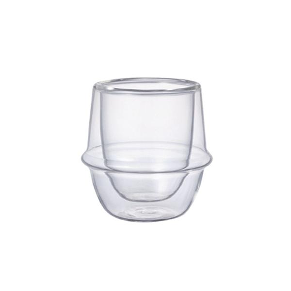 日本KINTO KRONOS 雙層玻璃濃縮咖啡杯 80ml