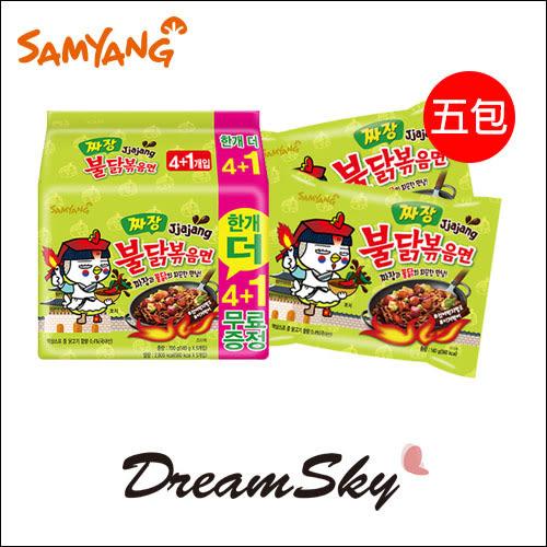 韓國 Samyang 三養 火辣雞肉炸醬風味鐵板炒麵 (5入) 140gX5 DreamSky