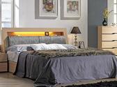 床架 MK-093-1  威爾斯6尺雙人床(床箱型) (床頭+床底)(不含床墊) 【大眾家居舘】