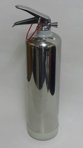 10型236高效能環保氣體氣體 環保滅火瓶10P滅火器-不鏽鋼瓶(白鐵) .泡沫滅火器.免換藥∞