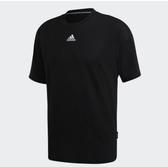 Adidas-3-STRIPES 男版黑色短袖上衣-NO.GC9060