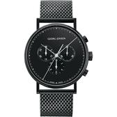 Georg Jensen 喬治傑生 KOPPEL 計時手錶-41mm(3575697)