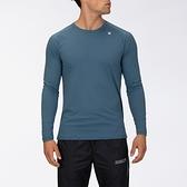 Hurley M HRLY Q/D TEE LS THUNDERSTORM 長袖T恤-(藍)