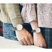 全館免運八折促銷-文藝復古羅馬盤學生情侶手錶一對正韓潮流小清新簡約石英手錶男女