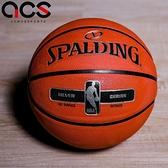Spalding 籃球 Silver NBA Rubber 咖啡 銀 7號球 室外 運動休閒 【ACS】 SPA83494