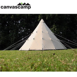 丹大戶外【CanvasCamp】Tipi 500 Ultimate 5米 純綿印地安帳