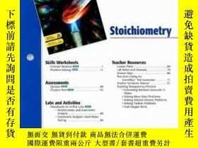 二手書博民逛書店Holt罕見Chemistry Chapter 9 Resource File: StoichiometryY