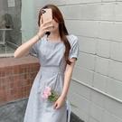 洋裝 復古溫柔連身裙DJB01依佳衣