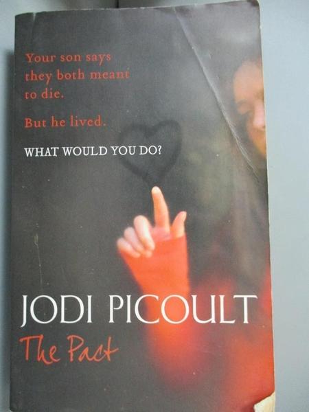 【書寶二手書T6/原文小說_BKQ】The Pact_Jodi Picoult
