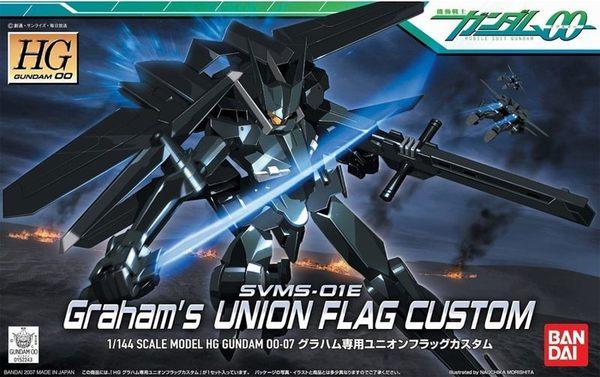 鋼彈模型 HG 1/144 鋼彈00 SVMS-01E Graham\'\'s UNION FLAG CUSTOM 葛拉漢專用 聯合旗幟式特裝型 TOYeGO 玩具e哥