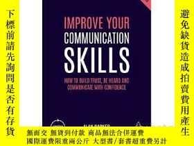 二手書博民逛書店提升溝通技能(第5版)英文原版罕見Improve Your Co