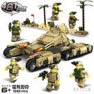 積木玩具猛?坦克拼裝6-9-12歲男孩軍...