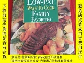 二手書博民逛書店LOW-FAT罕見WAYS TO COOK FAMILY FAVORITESY25376 Oxmoor Hou