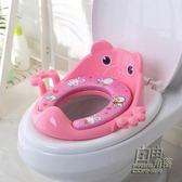 全新加大號兒童坐便器馬桶圈寶寶坐便圈小孩馬桶蓋墊嬰幼兒座便器 自由角落