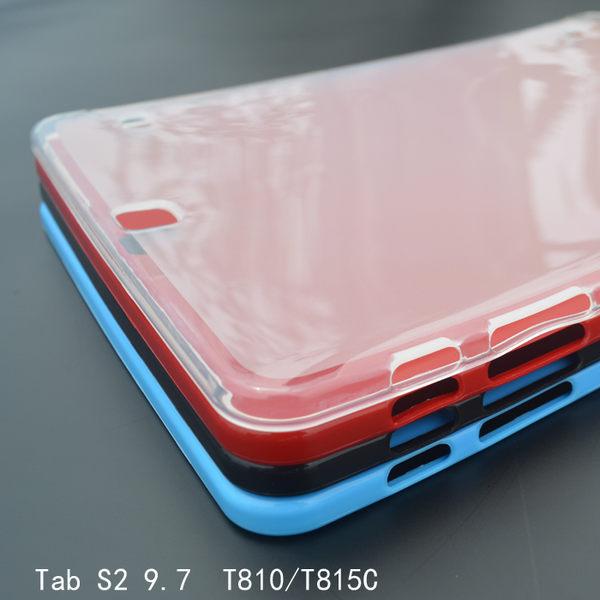 King*Shop--三星Tab S2 9.7外殼 T815C平板保護套 T810超薄保護殼 矽膠清水套