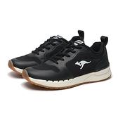 KANGAROOS 休閒鞋 FUTURE 黑白 復古 黃偉晉 潮山野 慢跑 女 (布魯克林) KW11250