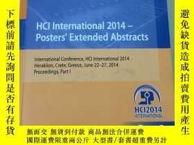 二手書博民逛書店HCI罕見International 2014 - Poster