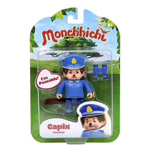 《 Monchhichi 夢奇奇 》人偶公仔 - 警察叔叔 Capix╭★ JOYBUS玩具百貨