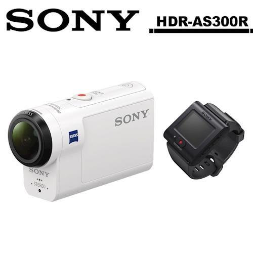 SONY HDR-AS300R  FullHD 運動型 攝影機 公司貨 送64G卡+專用電池+專用座充+4大好禮