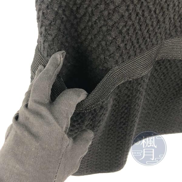 BRAND楓月 CHANEL 香奈兒 黑色 全黑 毛呢 編織 粗編 繭型洋裝 無袖 羊毛毛衣 #34