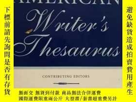 二手書博民逛書店Oxford罕見American Writer s Thesau