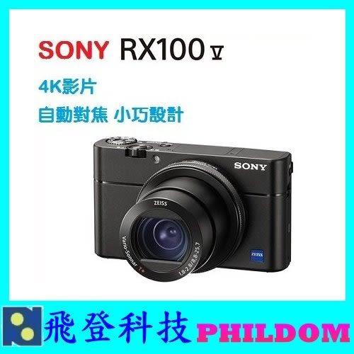 贈ACCTRDCX原廠充電池組 SONY RX100M5 RX100V RX100 M5 4K錄影 翻轉螢幕 類單眼 公司貨 保固一年
