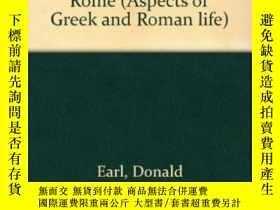 二手書博民逛書店The罕見Moral And Political Tradition Of Rome (aspects Of Gr