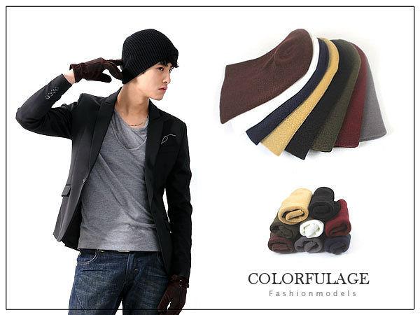 型男可反摺保暖厚實長版毛帽 韓版品味【NH35】單頂價格