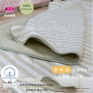 MARTONEER/愛相隨【色織綿/夏季毛巾被】多功能冷氣被150*200cm(淡綠)