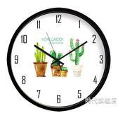 掛鐘掛鐘客廳靜音時尚創意個性大掛錶裝飾時鐘兒童房臥室現代簡約鐘錶XW