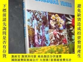 二手書博民逛書店RARE罕見FLOWERS AND UNUSUAL TREES(