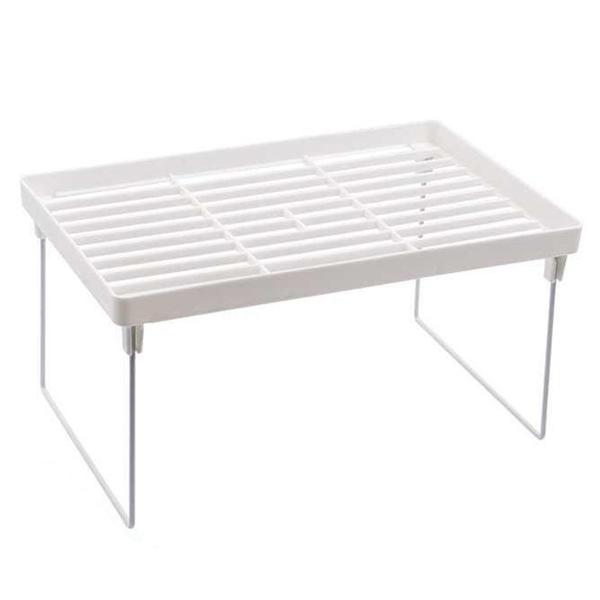 收納架 瀝水架 折疊架 置物架 小 分層架 疊加 摺疊桌 組合收納架 日式 折疊分層架【P430】MY COLOR