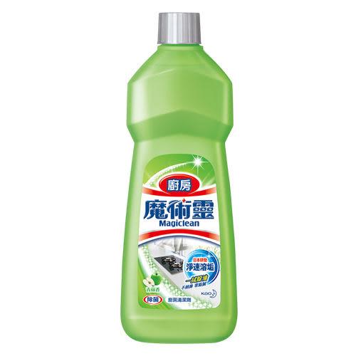 魔術靈 廚房清潔劑 經濟瓶青蘋香500ML【花王旗艦館】