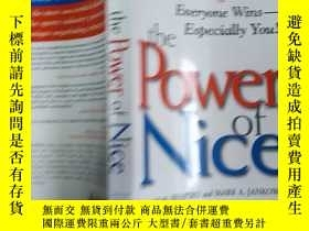 二手書博民逛書店The罕見Power of Nice: How to Negotiate So Everyone Wins-Esp