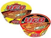 日清 UFO炒麵 香辣咖哩/日式醬油 風味碗麵(88g) 款式可選【小三美日】