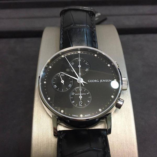 喬治傑生(GEORG JENSEN)-KOPPEL自動上鍊計時碼錶-41mm