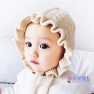 兒童帽子 秋冬季寶寶毛線宮廷帽兒童公主可愛嬰春秋小女孩針織【快速出貨】