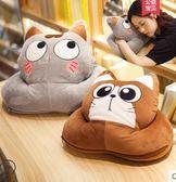 午睡枕學生兒童午休枕趴趴枕暖手睡覺趴睡枕頭辦公室抱枕被子兩用