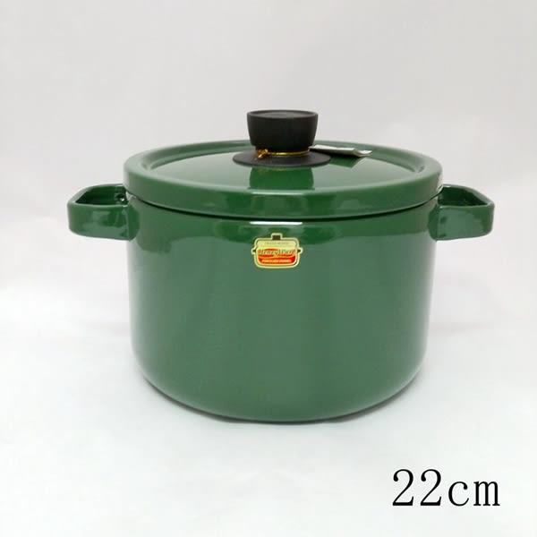 日本Honey ware富士琺瑯鍋【深型雙耳琺瑯鍋 22cm】- 平行輸入