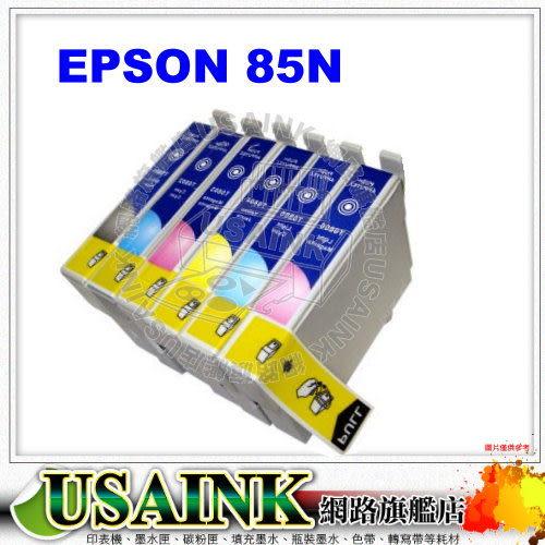 USAINK☆EPSON T0854/85N 黃色相容墨水匣 PHOTO 1390